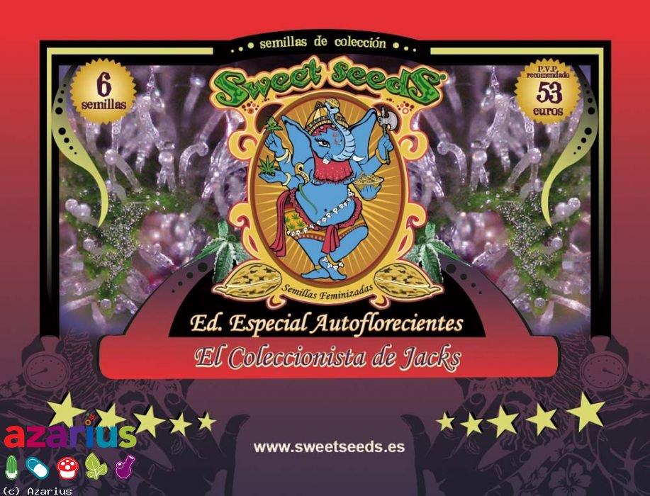 Sweet Seeds Mix Auto Jack 6ks (Autoflowering)
