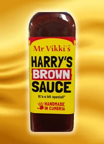 Mr.V Harry's Brown Sauce 227g (Chilli omáčka)