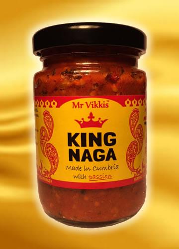 Mr.V King Naga Masala Curry Sauce 355g (Chilli omáčka)