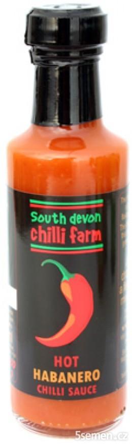 Hot Habanero Sauce 100ml (chilli omáčka)