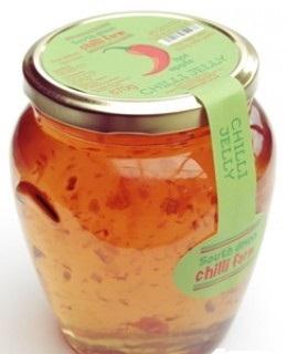 Large Hot Apple Chilli Jelly 670g (chilli jam)